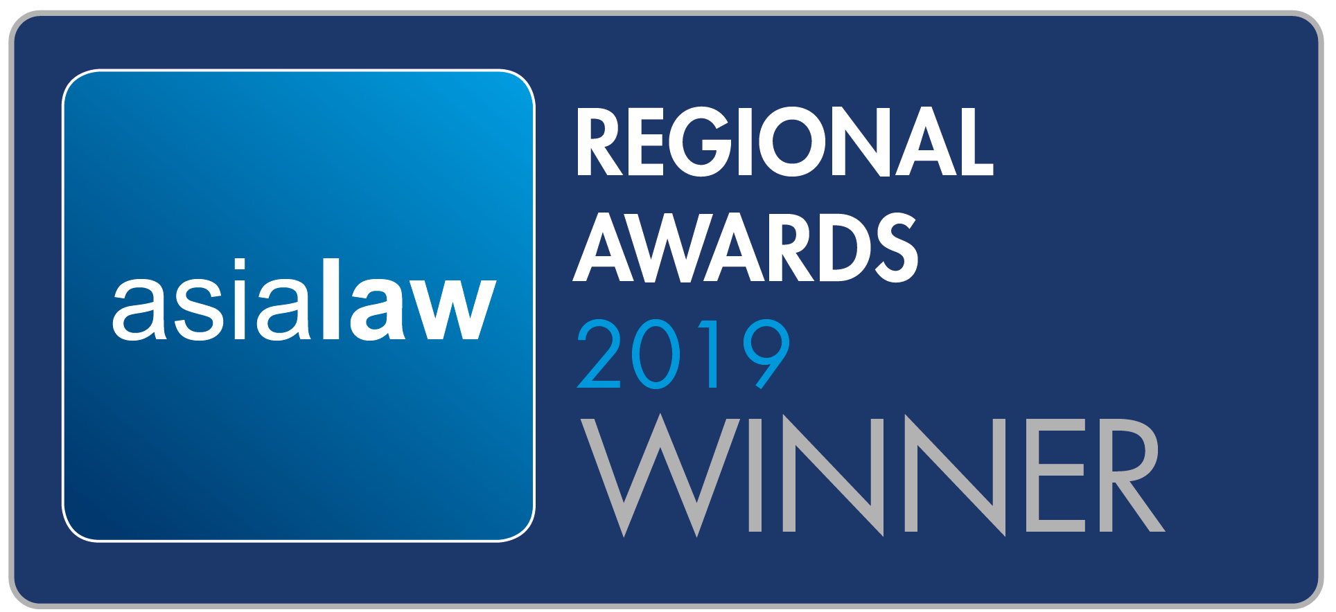 Asialaw Regional Awards - Winner emblem