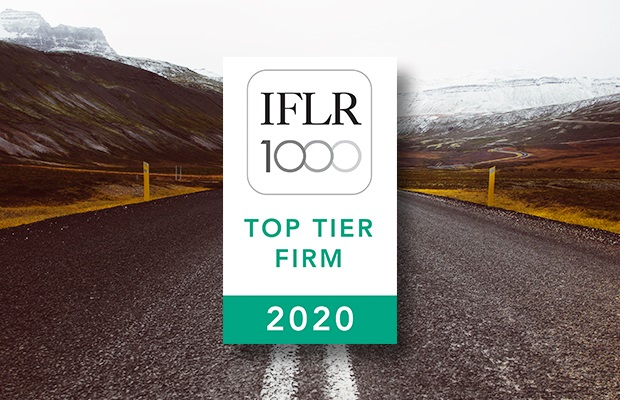 Top Rankings in All Six Categories – IFLR1000 (2020)