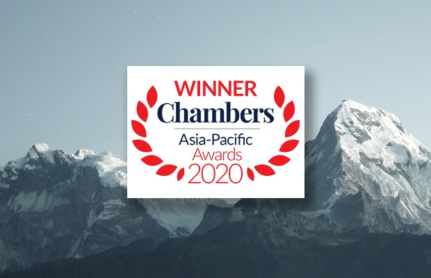 Chambers Asia-Pacific Awards 2020